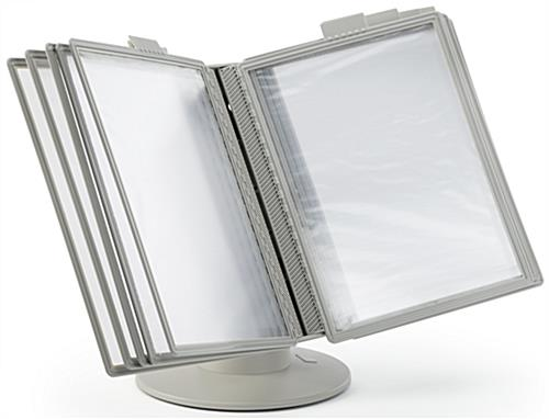 Desktop Reference Rack with Anti-Glare Lens