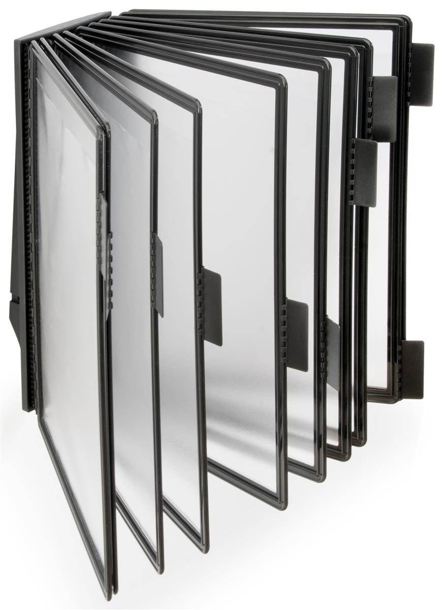 Wall Mount Reference Rack Black Finish