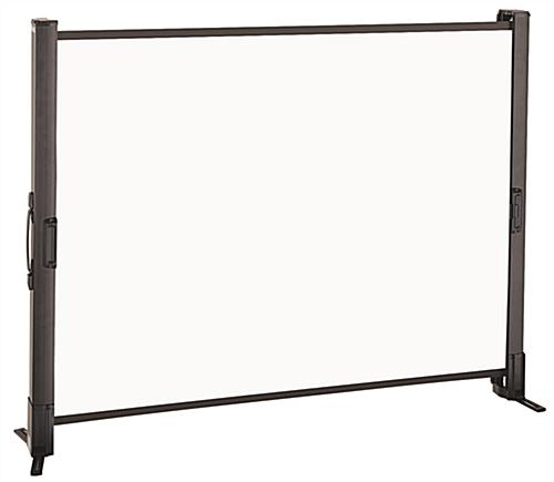 Tabletop Projection Screen