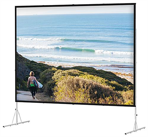 Folding Projection Screen