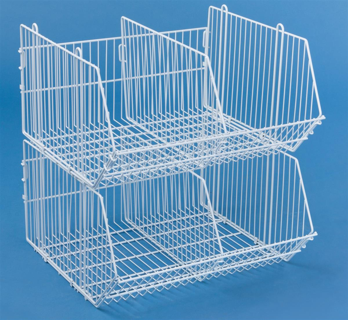 These Wire Storage Baskets Are Versatile Merchandise Racks