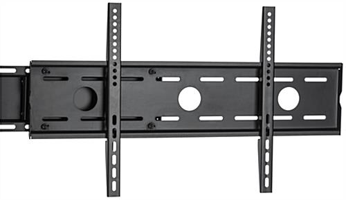 Side by Side Dual TV Rack, Each Bracket Holds 88lbs