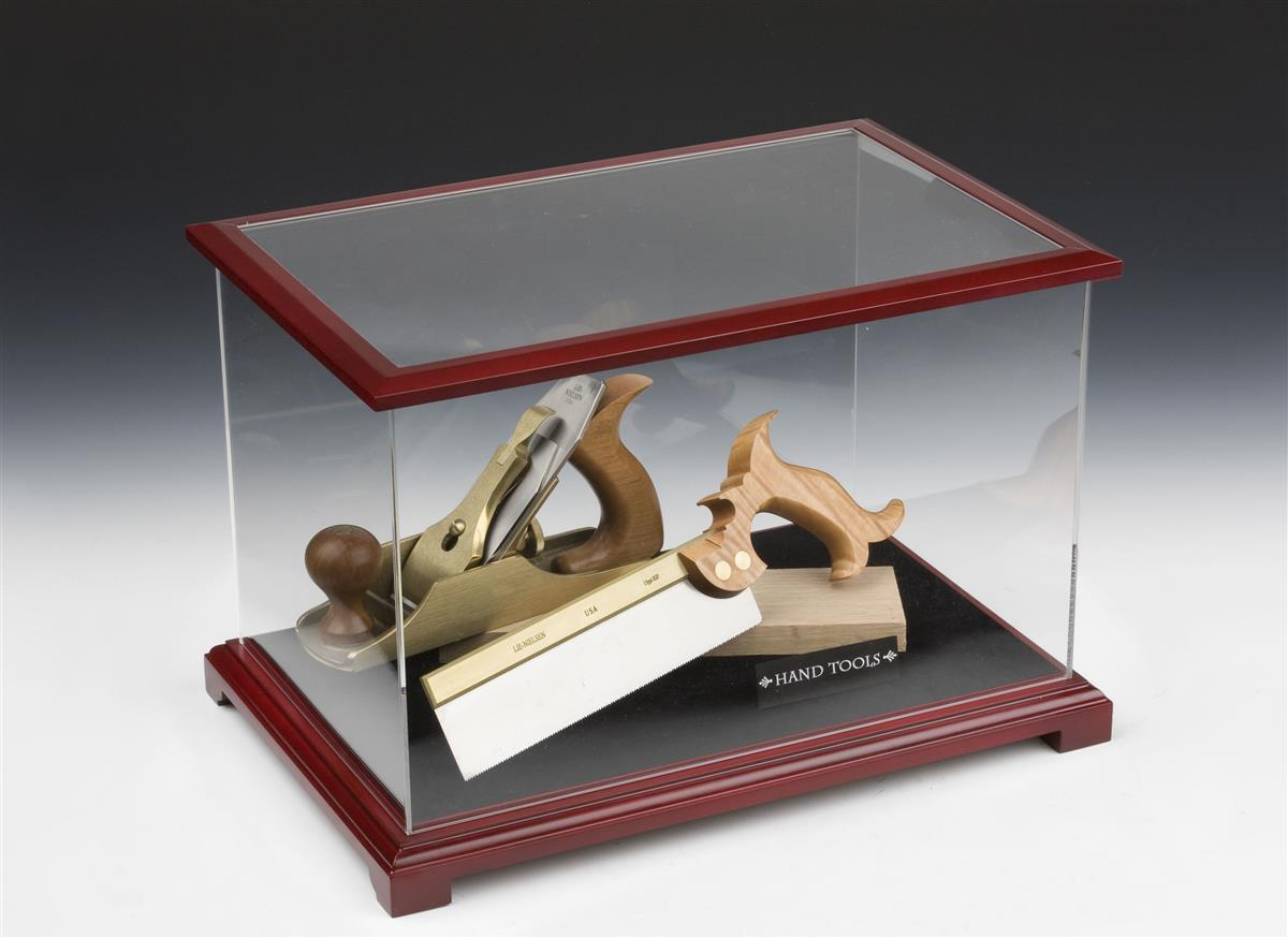 model display cases wood framed acrylic container. Black Bedroom Furniture Sets. Home Design Ideas