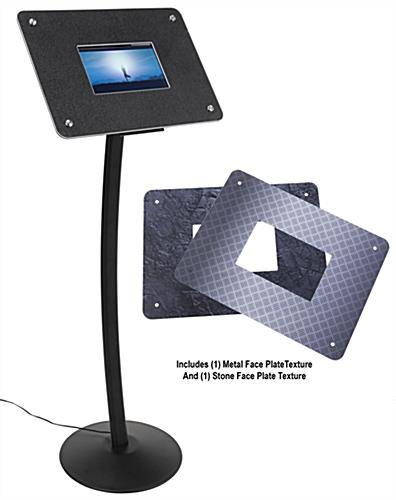 Small digital display stand offers high resolution for sharp content