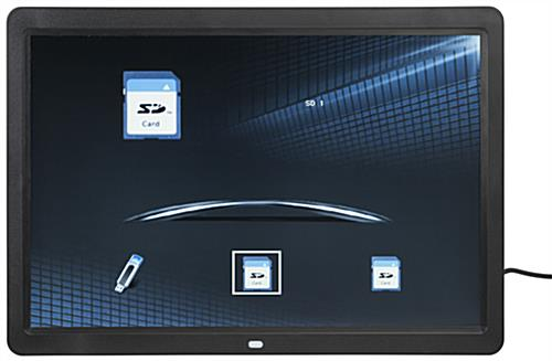 Wall Mount Widescreen Digital Frame