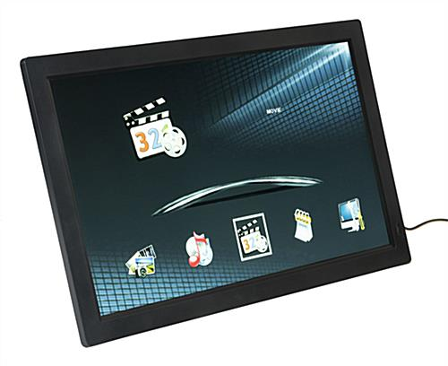 "18.5"" Digital Photo Frame with Black Border"