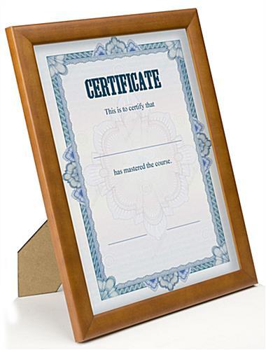 Award Any Frame Display Any 8-1/2 x 11 Vertically / Horizontally