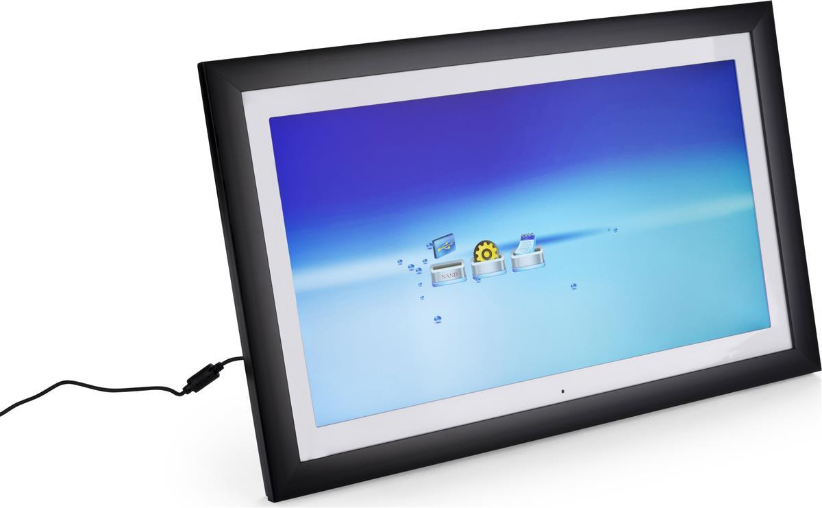 High Resolution LCD Digital Frame | 4GB Internal Memory