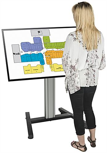 flat screen floor stand for Retail Locations