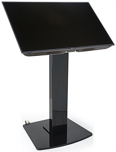 Steel, LCD Monitor Floor Stand