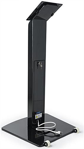 Touch Screen Display Stand Tilt And Roll Base