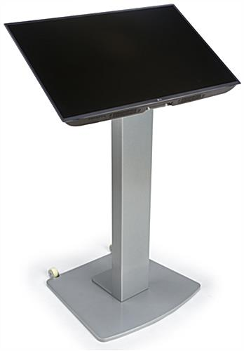 Moveable Vesa Floor Display Stand, 2 Brackets Included