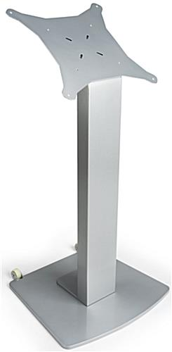 "Touch Screen Stand with Wheels, Up to 60"" Monitor"