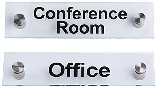 """Conference Room""/""Office"" Door Signs, Acrylic"