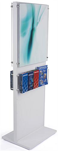 "66"" Tall Poster and Brochure Combo Display"