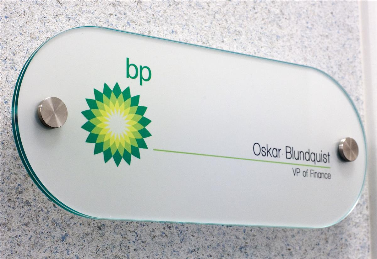 Interior Office Sign Develop Corporate Graphics For Directories