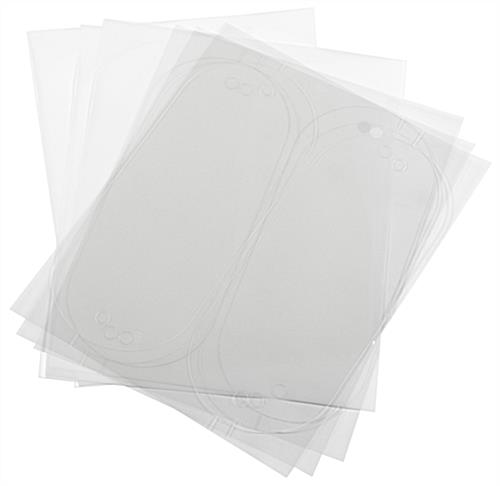 Replacement Printable Film Sheets for DSIGN104OV