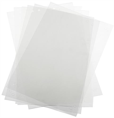 Replacement Printable Film Sheets for DSIGN1117