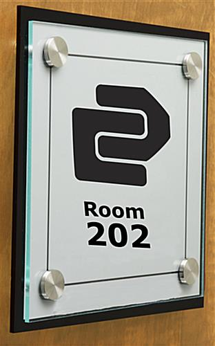 Name Plates On Doors Custom Signage With Standoffs