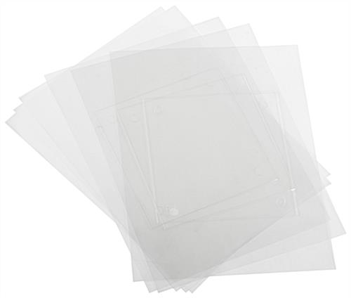 Replacement Printable Film Sheets for DSIGN66, DSIGN66BK