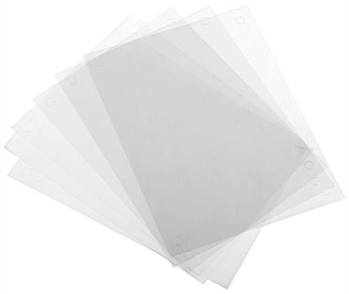Replacement Printable Film Sheets for DSIGN8511, DSIGN8511BK