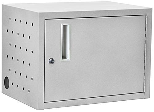 Ipad Charging Cabinet Desktop Or Wall Mounted Steel Case