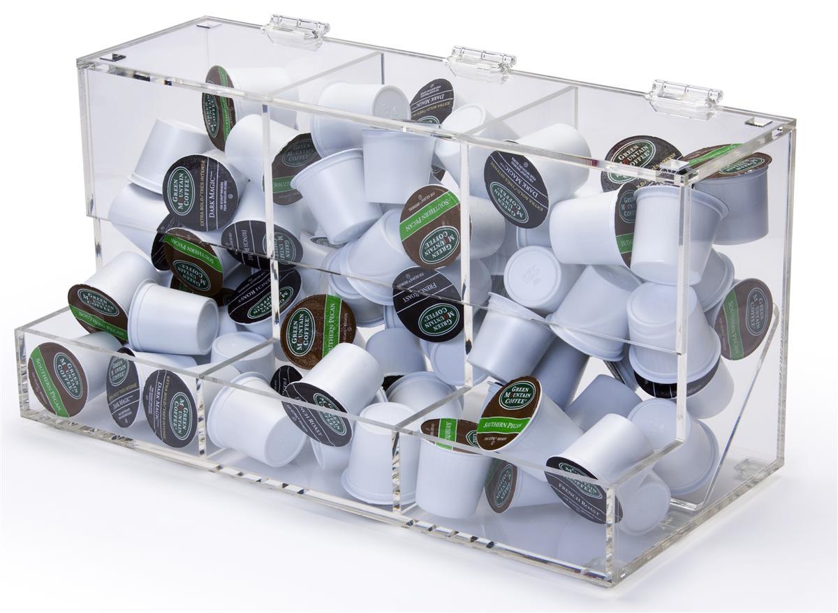 Clear Plastic Countertop Bins | Acrylic & PVC Storage Organizers