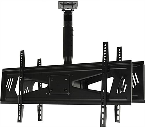 ceiling tv mount amazon walmart 50 inch led hanging two screens