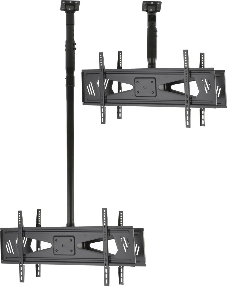 Hanging Tv Mount Dual Screen Bracket With Adjustable Features