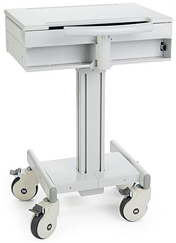 Medical Laptop Cart with Handle