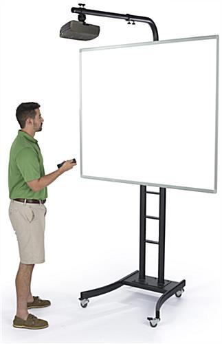 Whiteboard Display Stand in Use