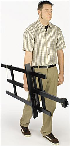 Wood Easel With Adjustable Support