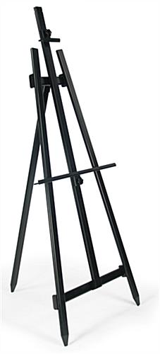 floor easel portable for indoor or outdoor display