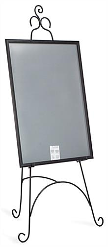 Decorative Metal Display Easel  with Knockdown Design