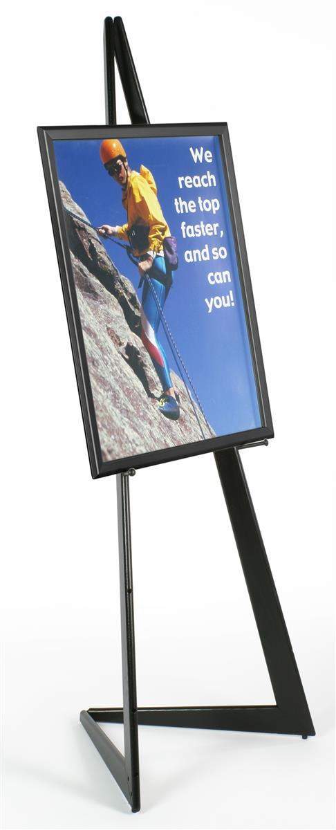 Displays2go 22 x 28 Poster Frame with Bifold Floor Easel,...