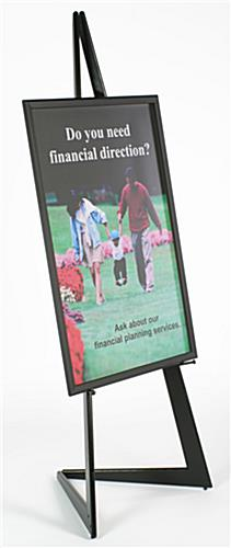 "Display Easel with 24"" x 36"" Frame"