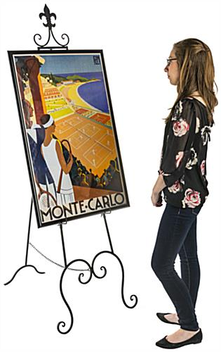 Large Canvas Adjustable Decorative Easel