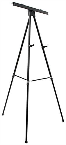 "Black Easel Stand W/ 18"" x 24"" Snap Frame, Front Loading"
