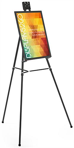 Poster Display | Sign Stand w/ Anti-Glare Plastic Lens