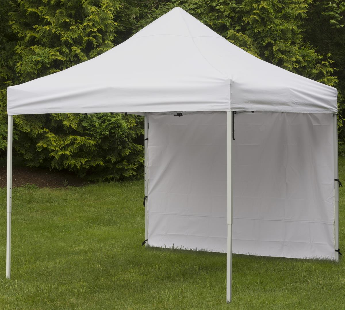 Canopy Side Panel White Waterproof Polyester