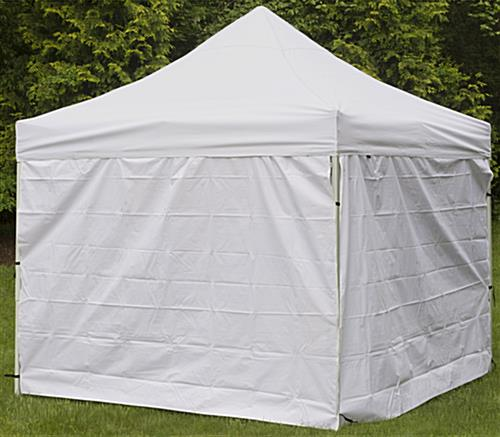 Durable White Portable Canopy ... & White Portable Canopy | 10 Foot Wide Pop Up Design