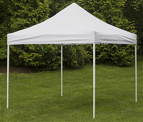 Portable Canopy With Steel Frame