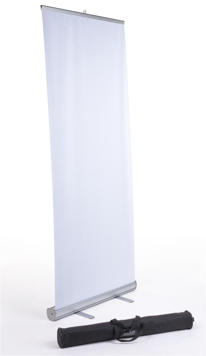 """Displays2go Retractable Banner Stand for 33"""" x 78"""" Graphi..."""