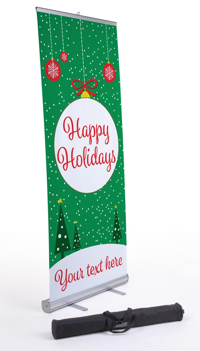 It's just a photo of Adorable Happy Holidays Banner Printable