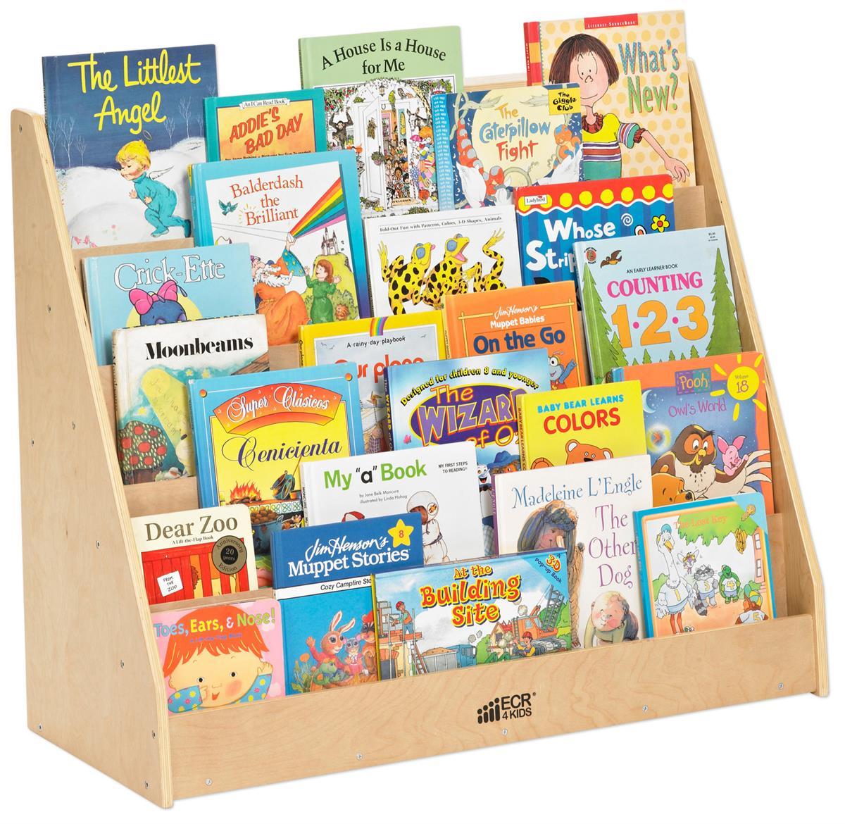 Children S Floor Standing Book Display 5 Tier Design