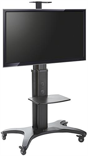 Black Rollable TV Stand