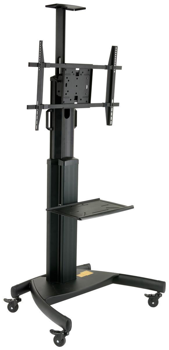 portable lcd carts flat screen stands for presentations. Black Bedroom Furniture Sets. Home Design Ideas