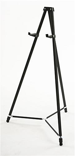 "36"" x 48"" Liquid Chalkboard and Aluminum Easel is Height Adjustable"