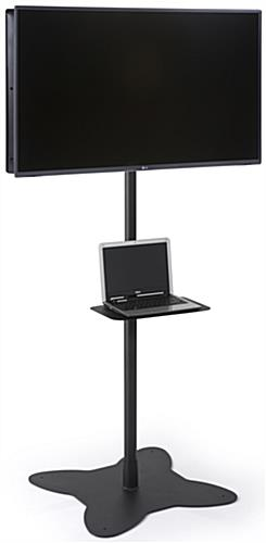 "Dual Pole TV Stand for (2) 26"" to 42"" Screens"