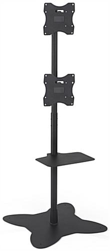 Dual Pole TV Stand, Mounts Back to Back